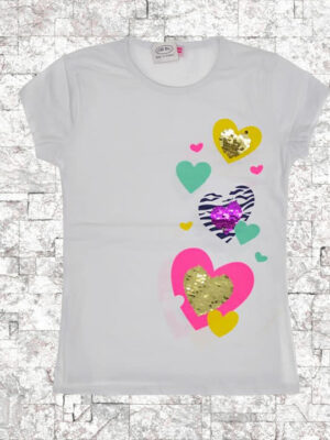 Тениска къс ръкав момиче