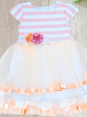 Детска рокля с диадема