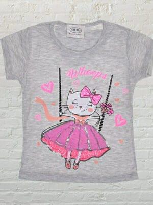 Тениска момиче Коте