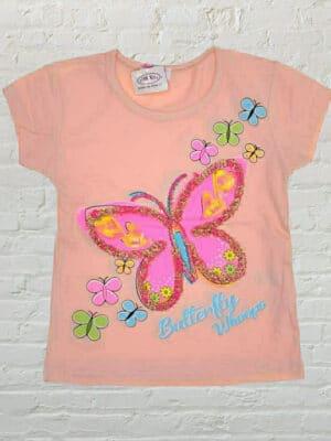 Тениска момиче Пеперуда