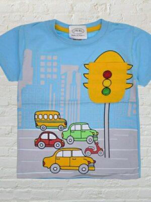 Тениска момче Светофар