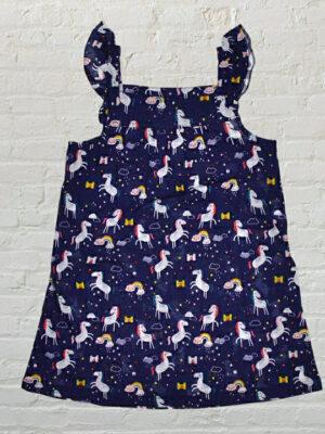 Детска рокля с еднорози
