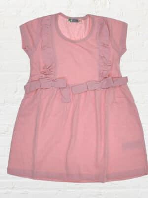 Розова рокля за момиче