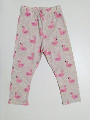 Сив клин за момиче с фламинго